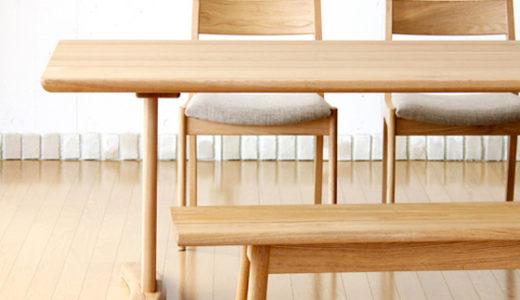 ダイニングソファセットに合うテーブル選び。