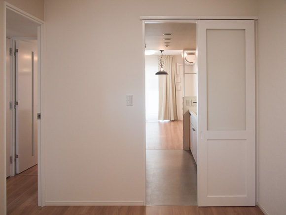 リノベ後のドア