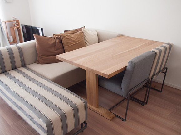 ソファータイプに合うダイニングテーブル