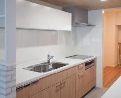 リノベで完成したキッチン
