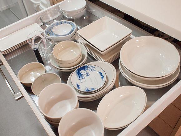 お皿の収納