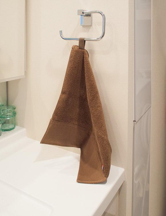 洗面所のタオルの長さ