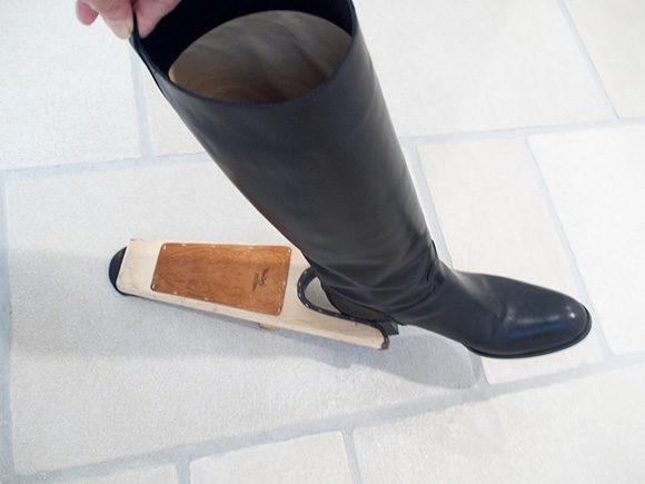 ブーツが簡単に脱げる