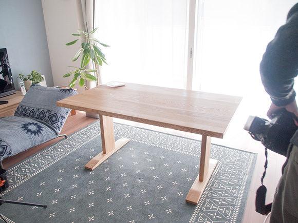 テーブルを移動