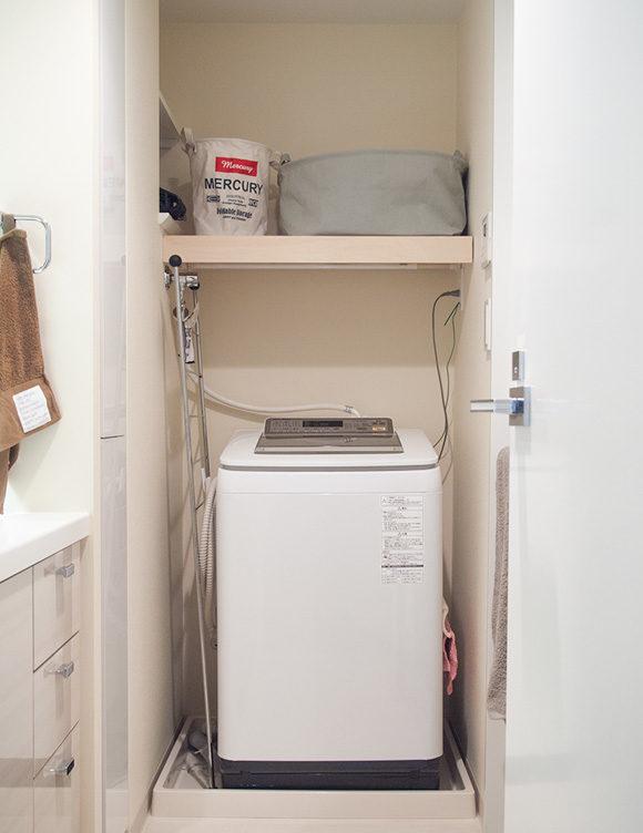 洗濯機周り改善