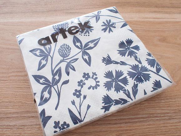 artekの紙ナプキン