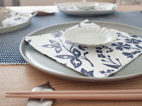 KIHARAのお皿でテーブルコーディネート