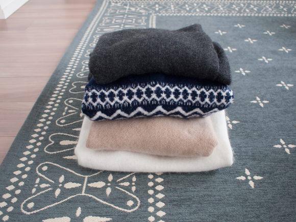 セーター クリーニング