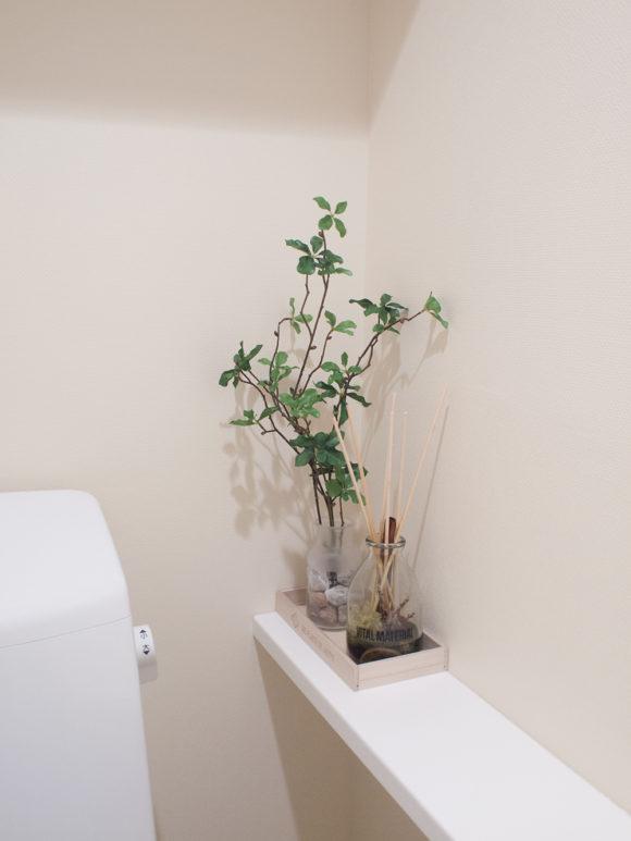 フェイクグリーン トイレ