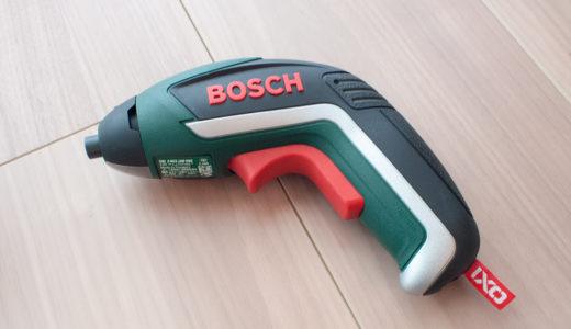 BOSCHのバッテリードライバー IXO5を使ってみた。