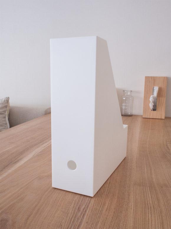 ニトリ ファイルボックス 背面