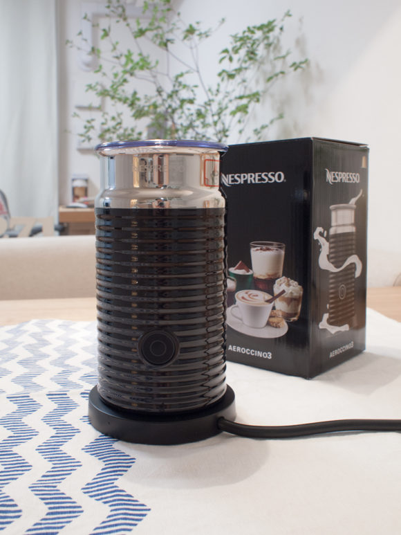 Nespresso エアロチーノ