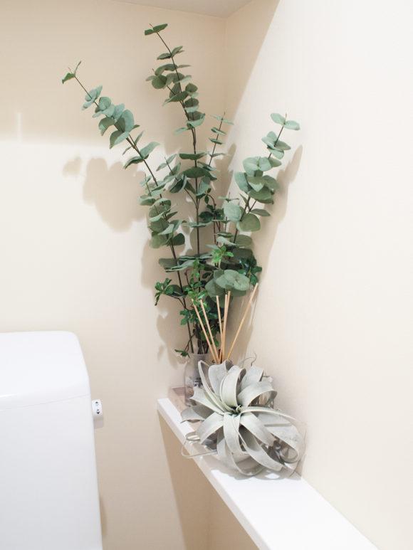 トイレ フェイクグリーン