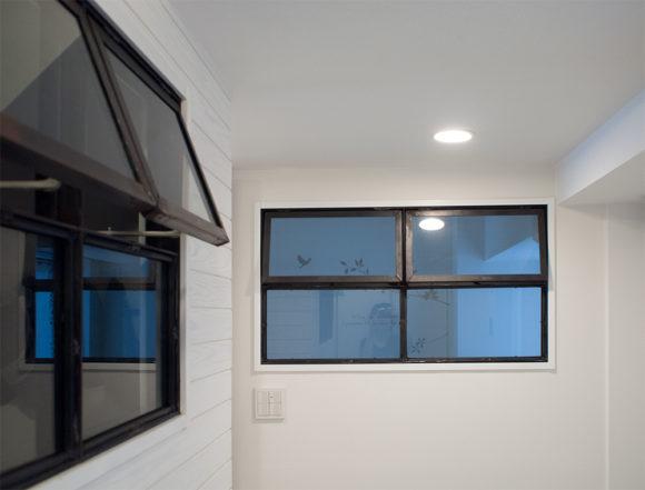 アイアン 室内窓