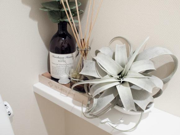 トイレ 造花 フェイクグリーン