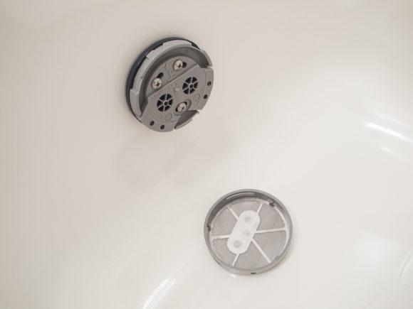風呂釜掃除 マンション ひとつ穴