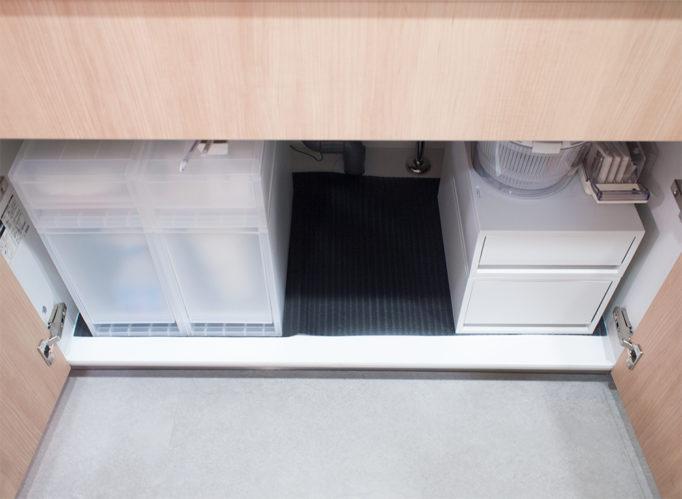 無印 キッチン シンク下 収納