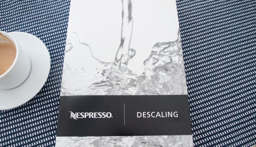 ネスプレッソマシンのお手入れ。湯垢洗浄のやり方は?大きなカップが無いときは?
