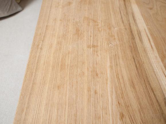 無垢テーブル シミ メンテ