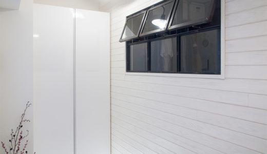 暗くて狭いマンションの玄関に明るさと開放感を!土間を広げたリノベーション