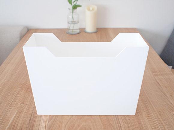 ニトリのファイルケース 横の形
