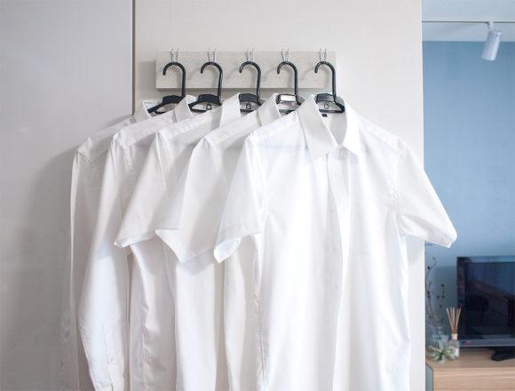 洗濯したワイシャツ