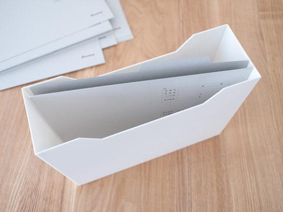 ニトリのファイルケースは少し小さい