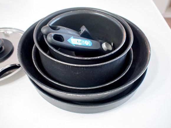 ティファールの鍋セット