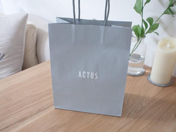 アクタスの買い物袋