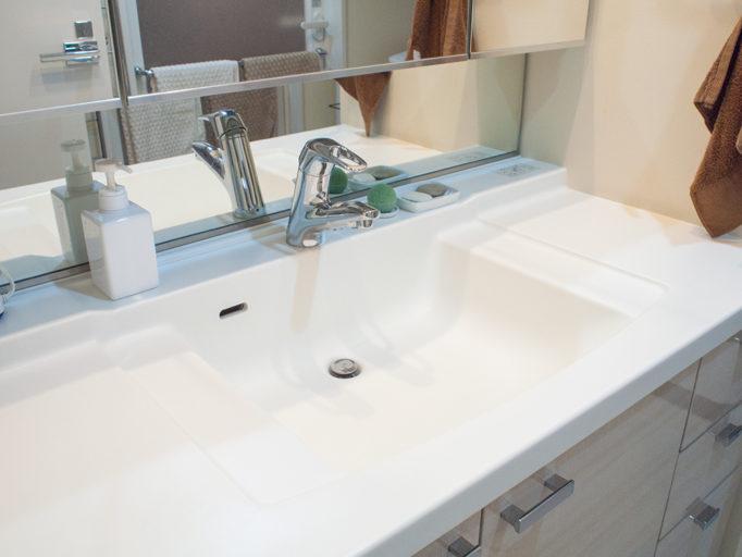 洗面所の掃除