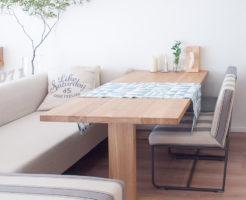 無垢のダイニングテーブル