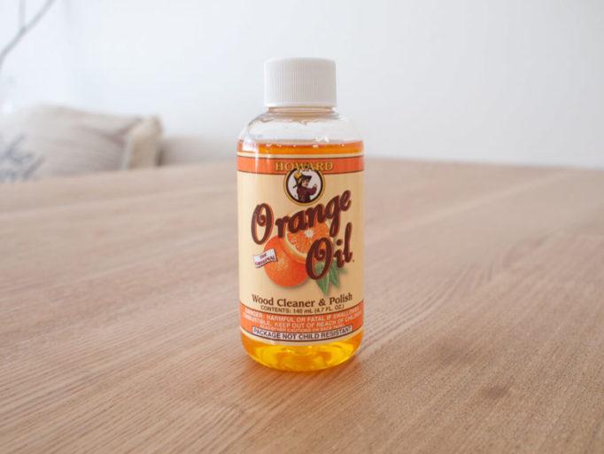 ハワードオレンジオイルのパッケージ