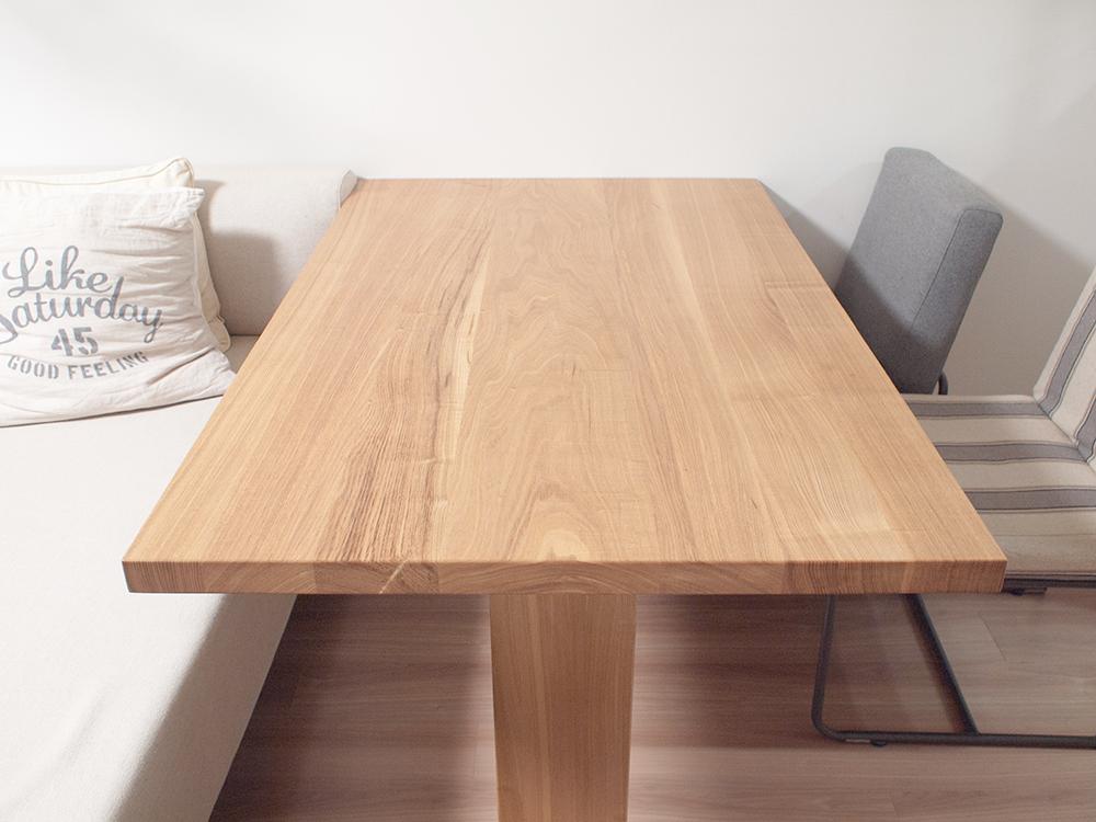 無垢テーブルのお手入れ