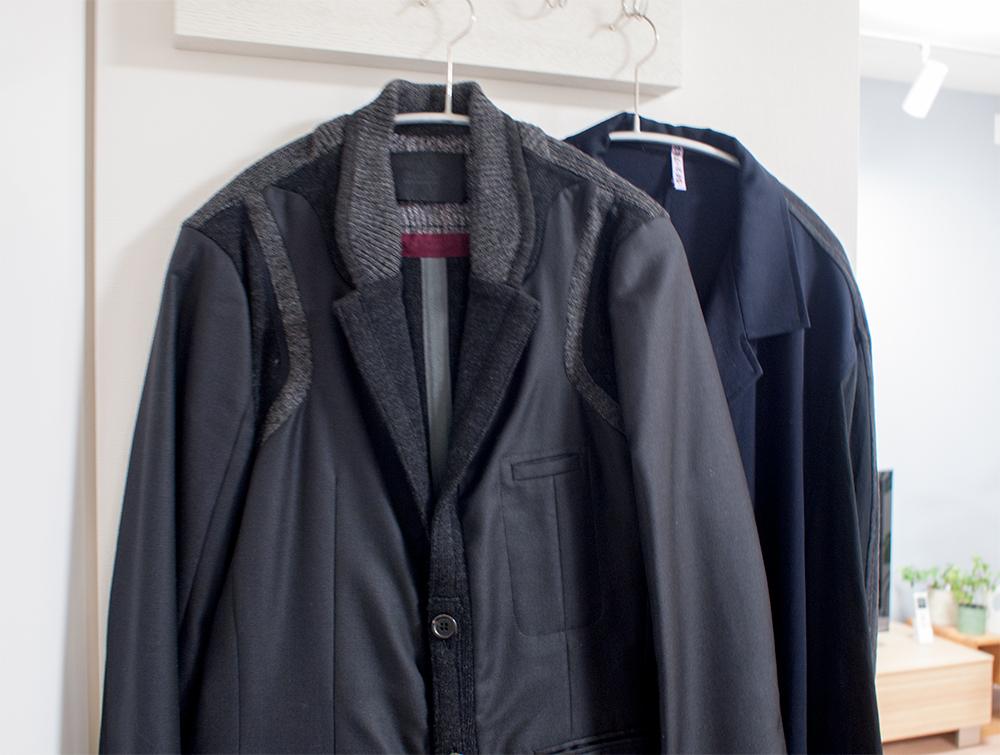 着てないジャケットやコート