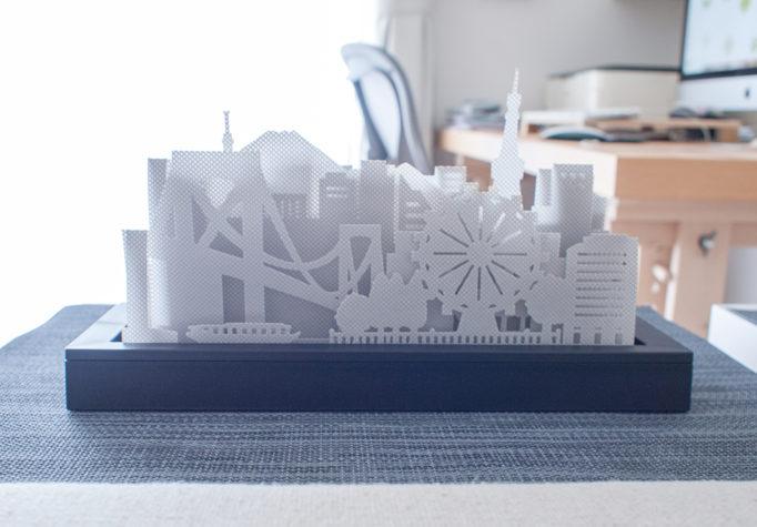 IKORの加湿器 お台場の風景を模した形