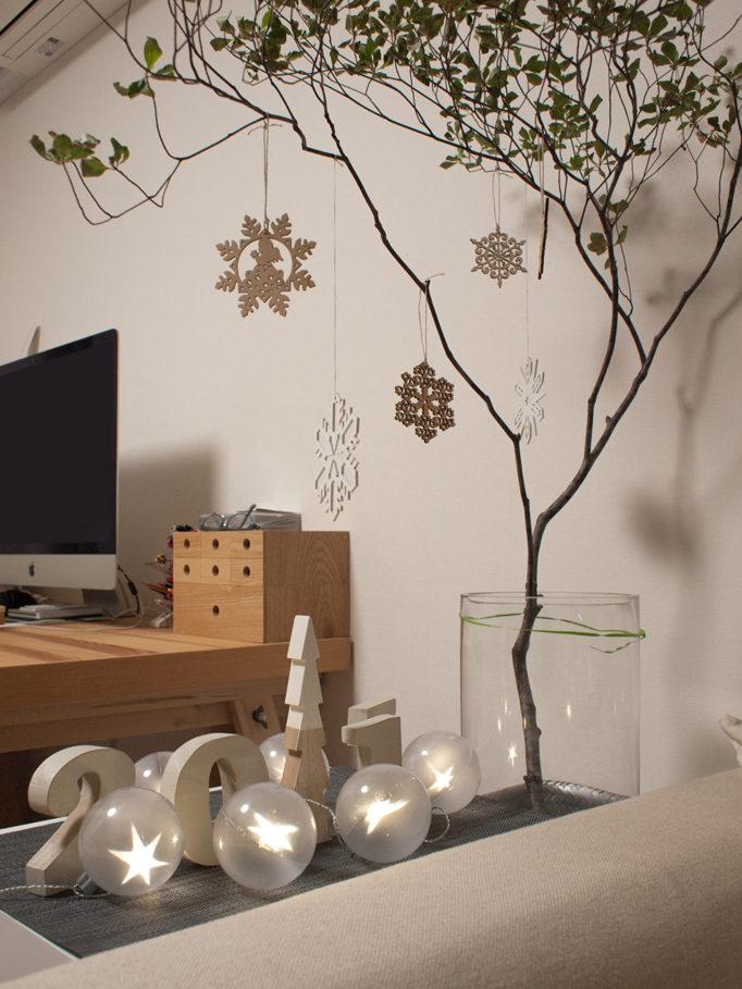 SPARKLE STARストリングLEDライトでクリスマスデコ