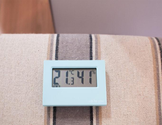 湿度を測定