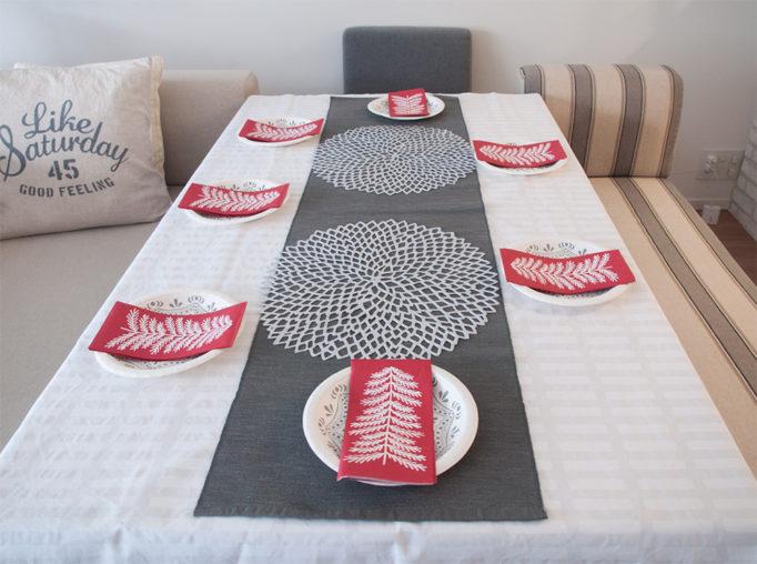 ホームパーティ テーブルセッティング