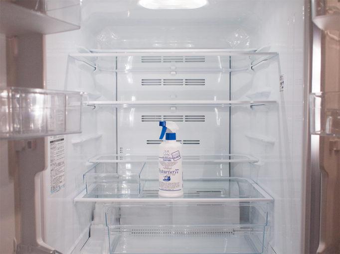 冷蔵庫掃除