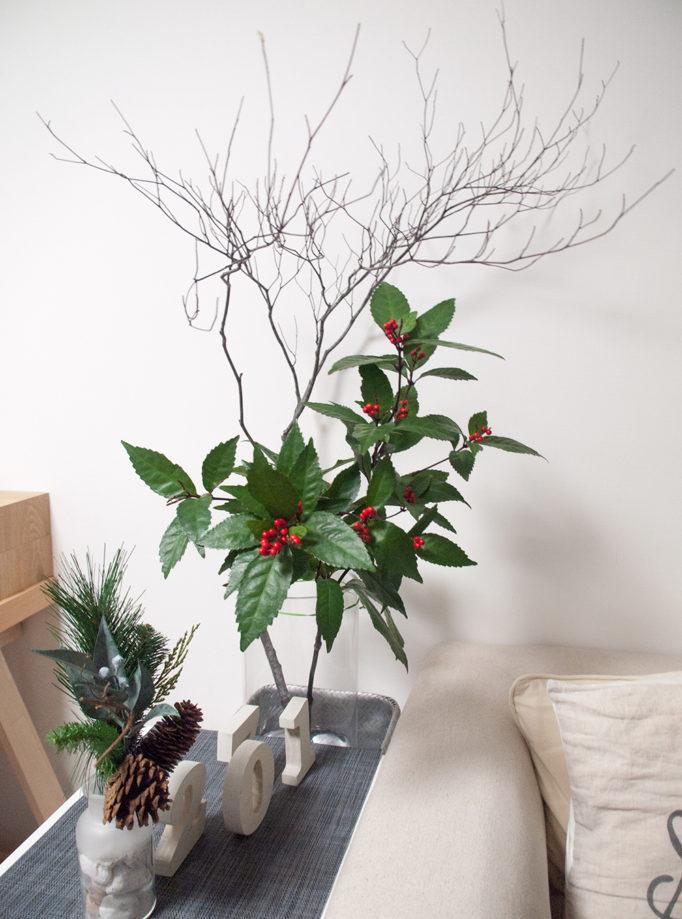 お正月の枝物