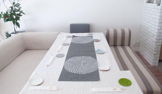 ホームパーティでテーブルが狭い!足りない!を解決した代用家具