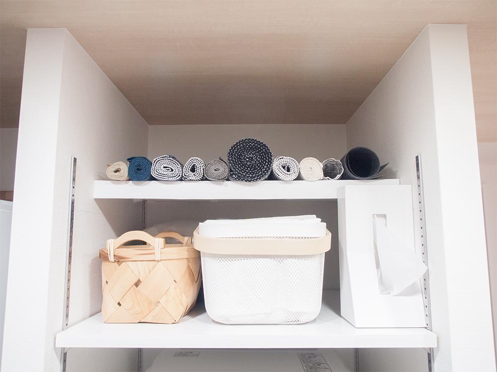 キッチンに棚を作る
