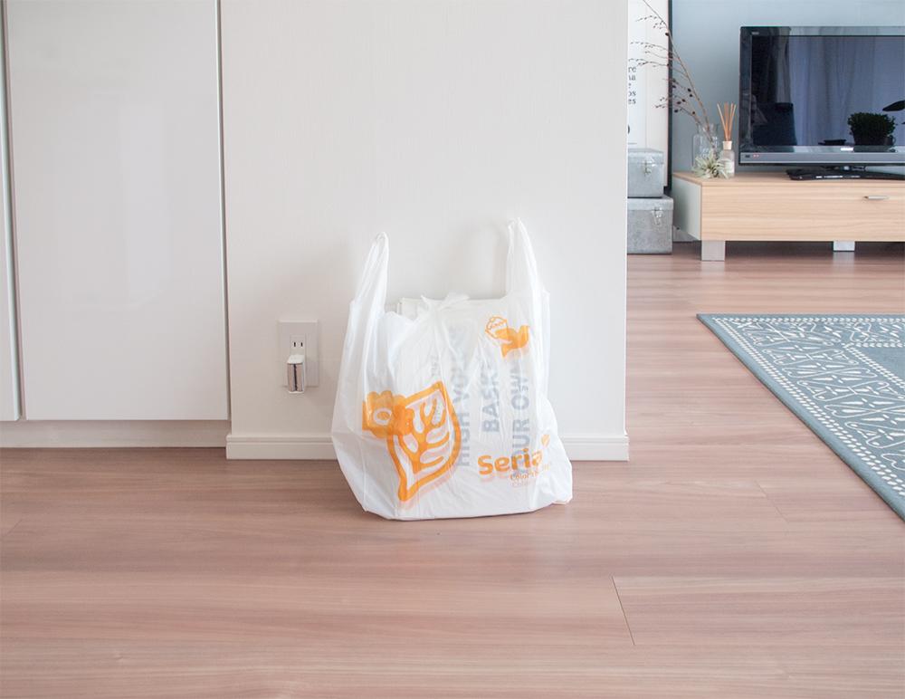 セリア買い物袋