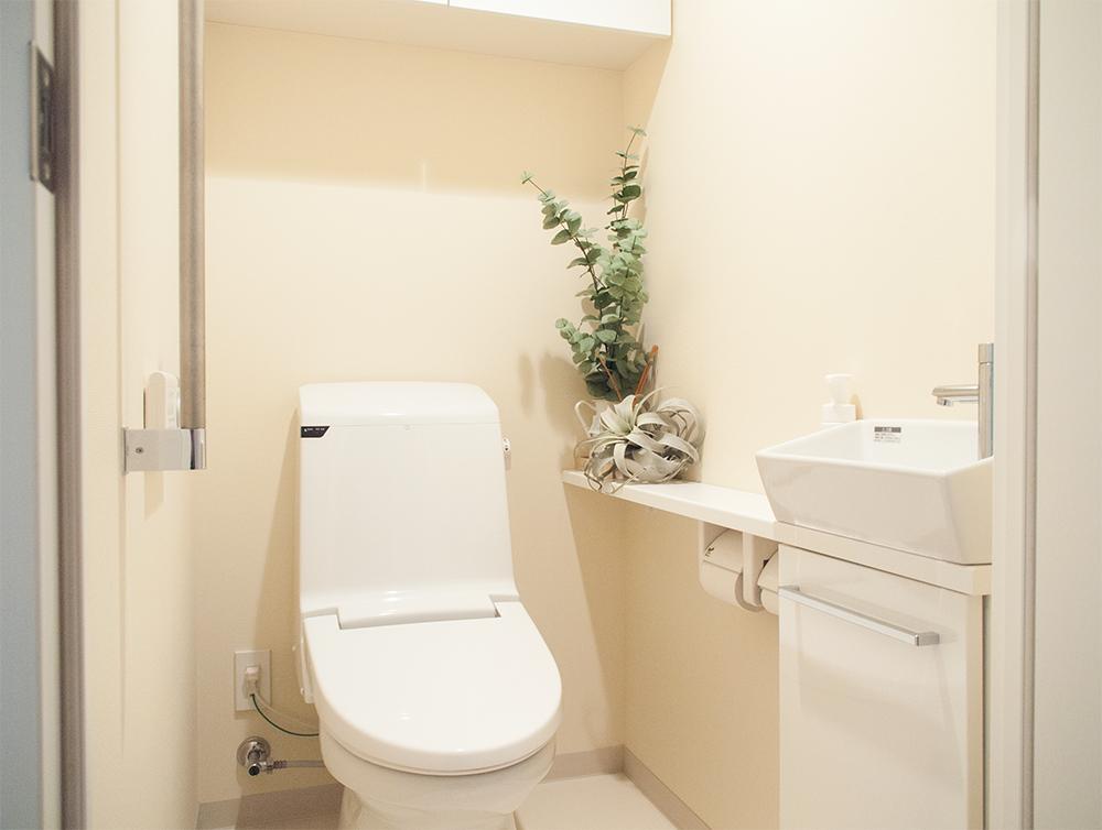 マンションのトイレ