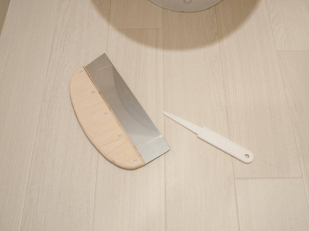 クションフロアDIYの道具