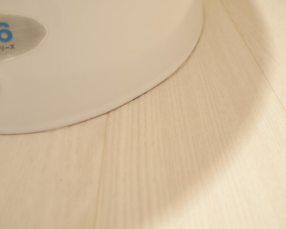 トイレのクッションフロア貼り 便器周りのスキマ