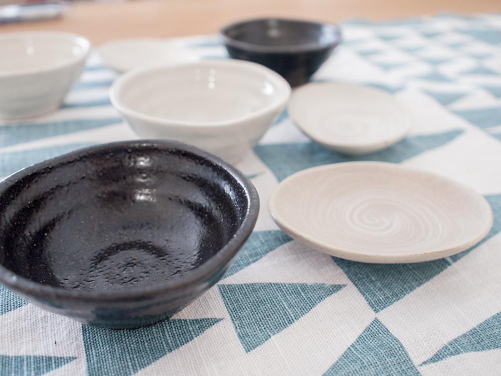シンプルな豆皿