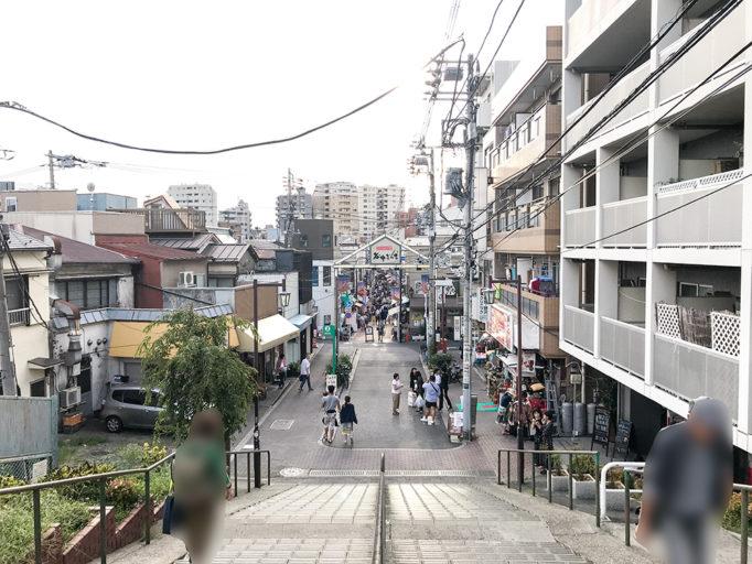 谷根千 ダンダン階段
