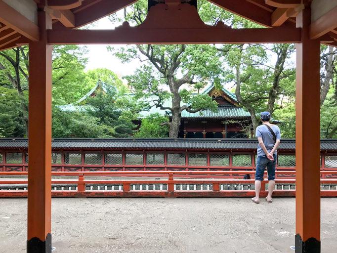根津神社の風景