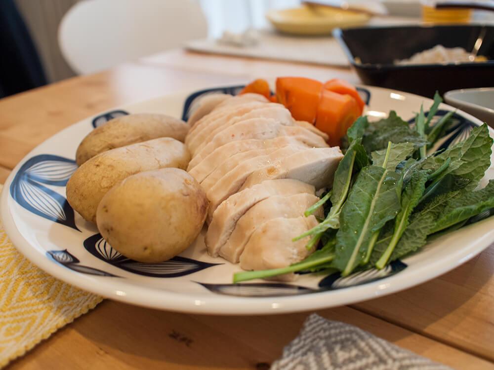 鶏肉のメイン料理